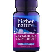 Astaxanthin fekete ribizlivel (30) Higher Nature