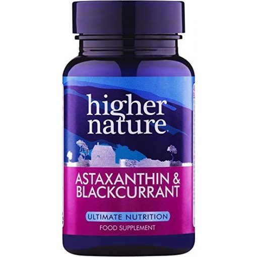 Astaxanthin fekete ribizlivel (30) Higher Nature