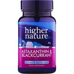 Astaxanthin fekete ribizlivel (90) Higher Nature