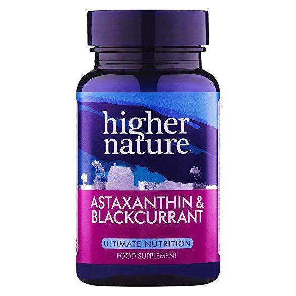 Astaxanthin fekete ribizlivel (90) Higher Nature