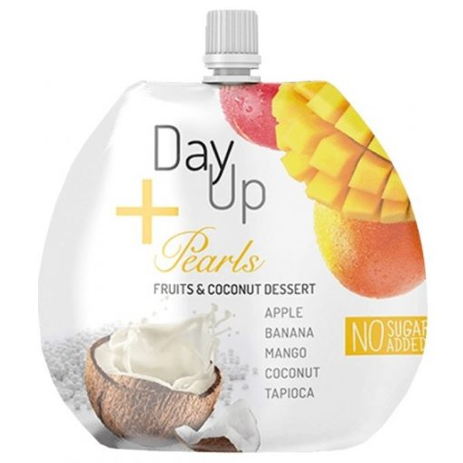Alma-banán-mangó gyümölcspüré 100g Day Up + Pearls