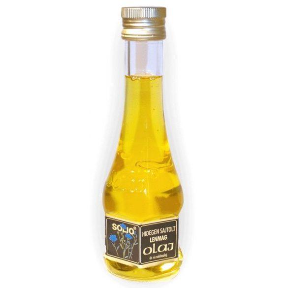 Lenmag olaj 200ml Solio