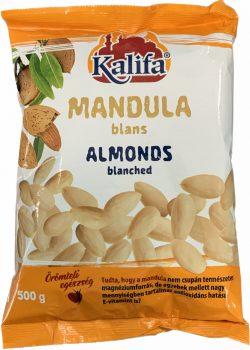 Mandula blansírozott 500g Kalifa