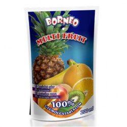 Vegyes 100% gyümölcsital 200ml Borneo