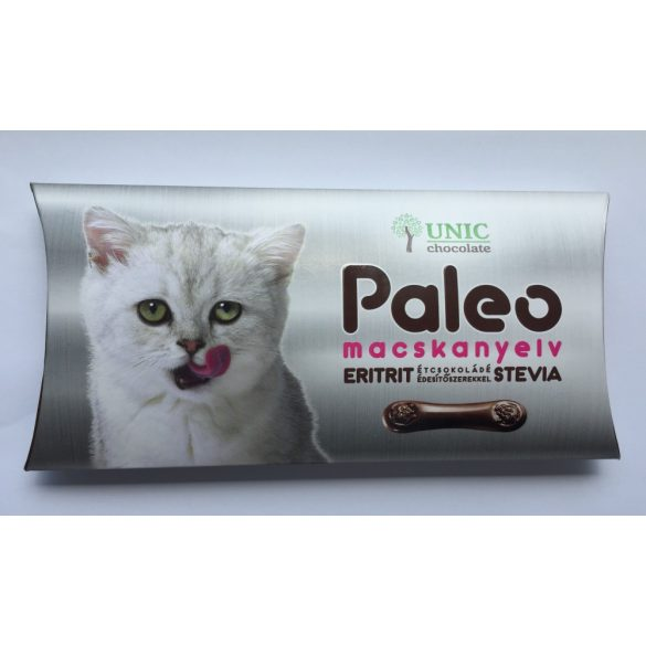 Paleo étcsokoládé macskanyelv 50g UNIC