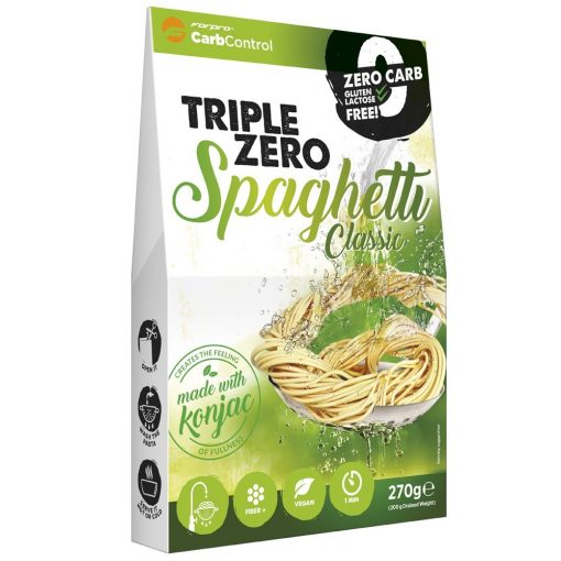 Spagetti natúr konjac tészta 270g Triple Zero