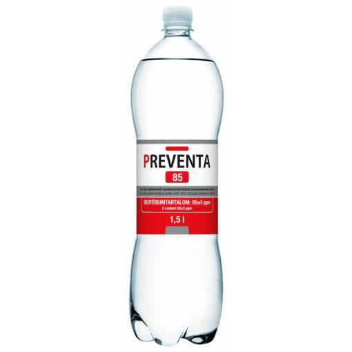 Preventa 85 csökkentett deutérium tartalmú szénsavmentes ivóvíz 1,5l