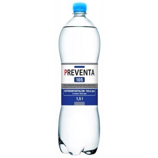 Preventa 105 szénsavas deutérium csökkentett ivóvíz 1,5l