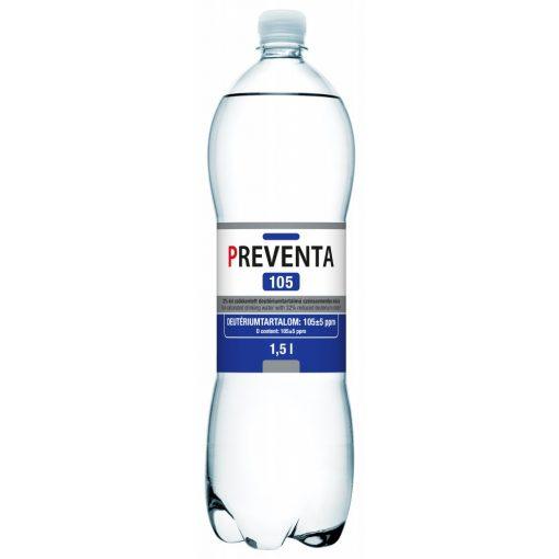 Preventa 105 csökkentett deutérium tartalmú szénsavmentes ivóvíz 1,5l