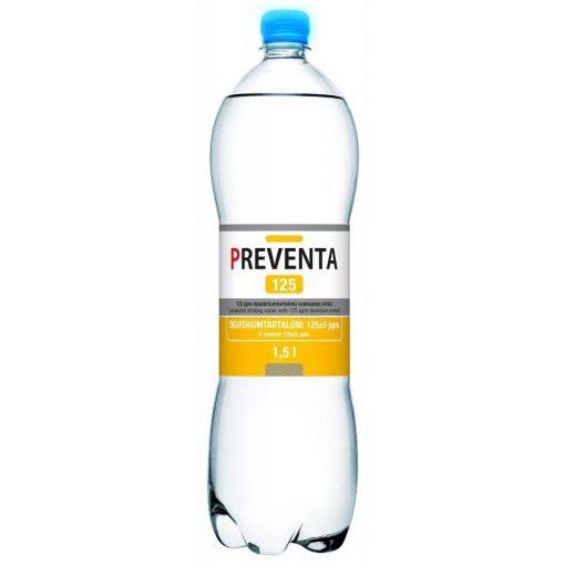 Preventa 125 szénsavas deutérium csökkentett ivóvíz 1,5l