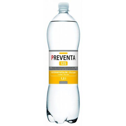 Preventa 125 csökkentett deutérium tartalmú szénsavmentes ivóvíz 1,5l