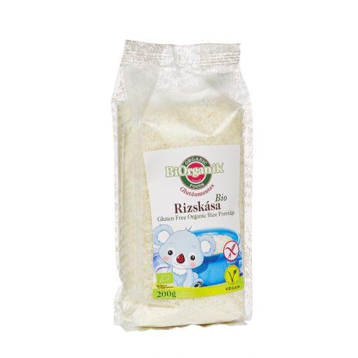BIO gluténmentes rizskása 200g BiOrganik