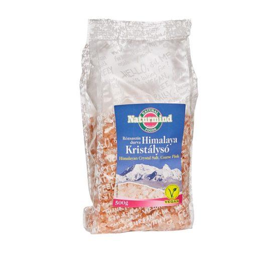 Himalaya só, durva rózsaszín 500g Naturmind