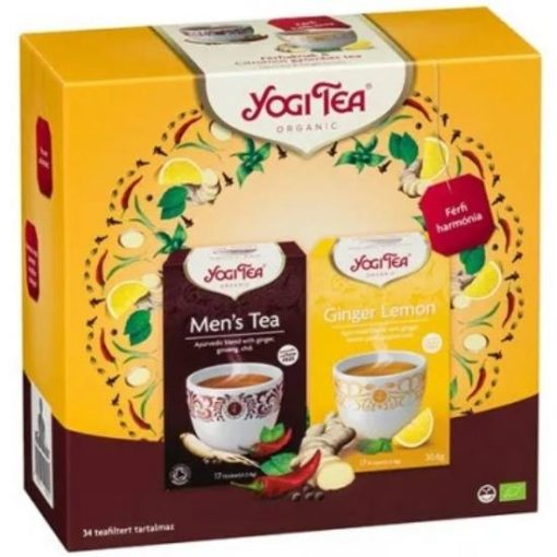 Yogi Tea® Férfi harmónia szett, 34 filter
