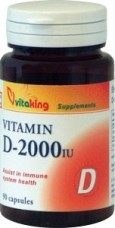D-2000 vitamin (90) kapszula Vitaking