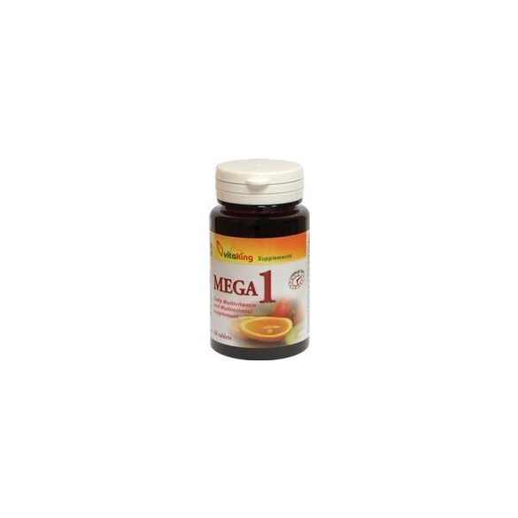 Mega 1 TR multivitamin (30) tabletta Vitaking