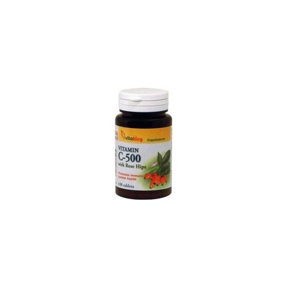 C-500 Csipkebogyóval (100) tabletta Vitaking