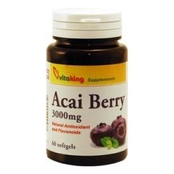 Acai Berry 3000mg (60) lágykapszula Vitaking