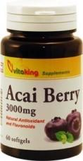 Acai Berry 3000mg (60) lágykapszula Vitaking