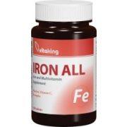 Vas-komplex (100) tabletta Vitaking