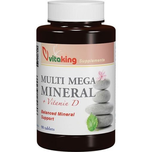 Multi Mega Mineral 90db tabletta Vitaking