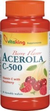 C-500 Acerola (40) rágótabletta Vitaking