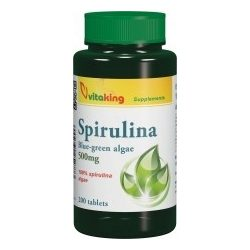 Spirulina alga 500mg (200) tabletta Vitaking