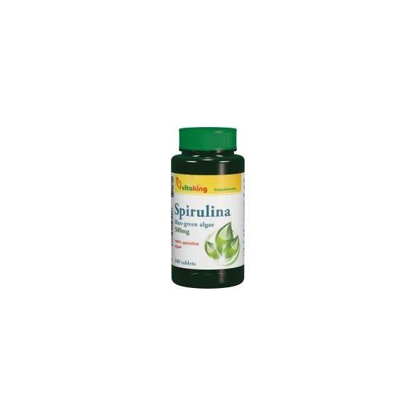 Spirulina alga 500mg (200) tabletta Vitaking