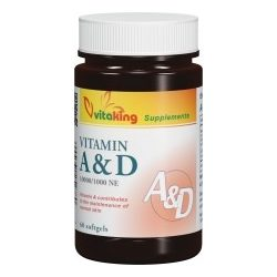 A&D 10000/1000 NE (60) lágykapszula Vitaking
