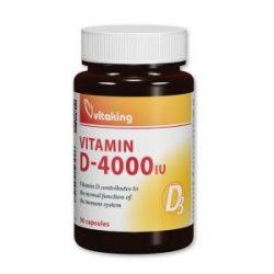 D-4000 vitamin (90) kapszula Vitaking