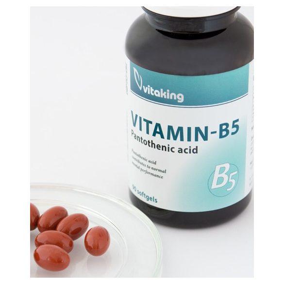 B5 Pantoténsav 200mg (90) Vitaking