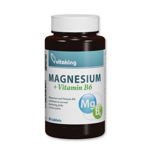 Magnesium citrát 150mg + B6 (90) tabl. Vitaking