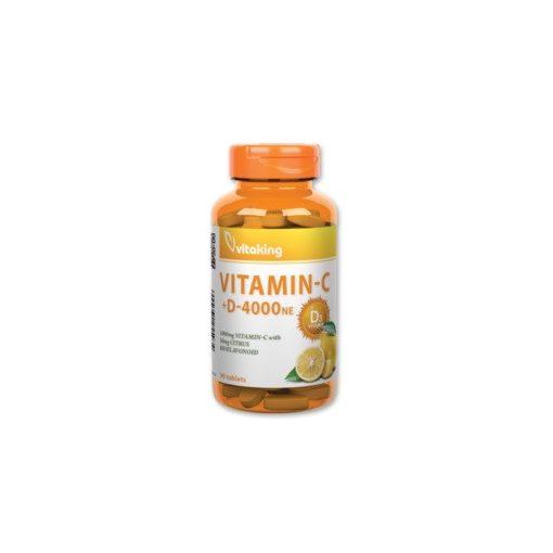 C-1000 + D-4000 komplex (90) tabletta Vitaking