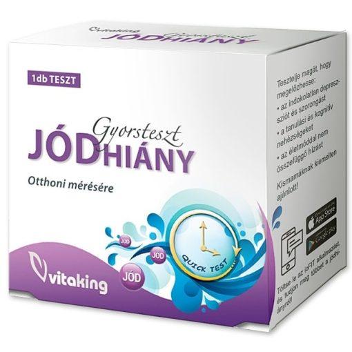 Jódhiány gyorsteszt (1) Vitaking