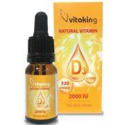 D3 vitamin csepp 10ml (320) Vitaking