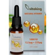 D3+K2+K1 vitamin csepp 10ml (160 adag) Vitaking