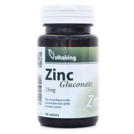 Cink-glükonát 25 mg (90) tabletta Vitaking
