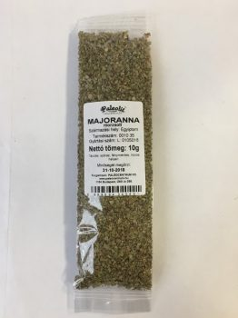 Majoranna morzsolt 10g Paleolit