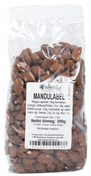 Mandulabél héjas 300g Paleolit
