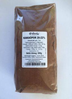 Kakaópor 20-22% Holland  500g Paleolit