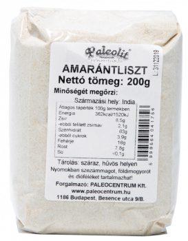 Amarántliszt 200g Paleolit