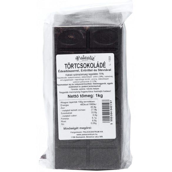 Étcsokoládé (tört) eritrittel 1kg Paleolit