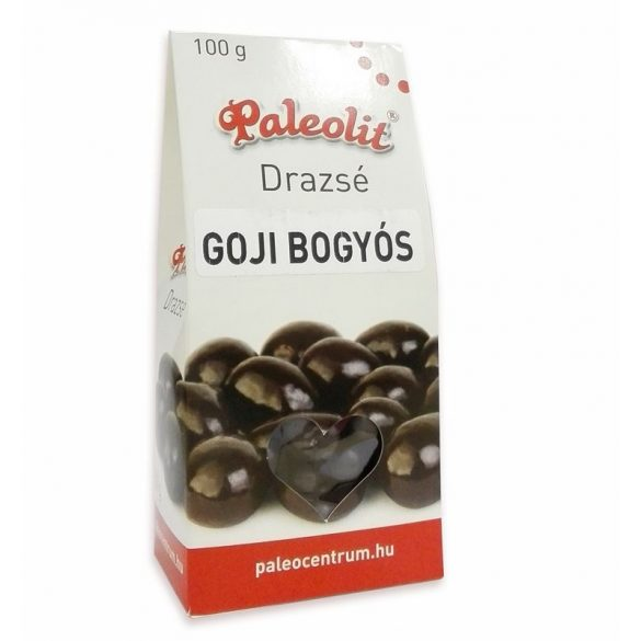 Goji bogyós drazsé 100g dobozos Paleolit