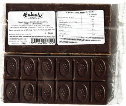Étcsokoládé tábla eritrittel 100g Paleolit