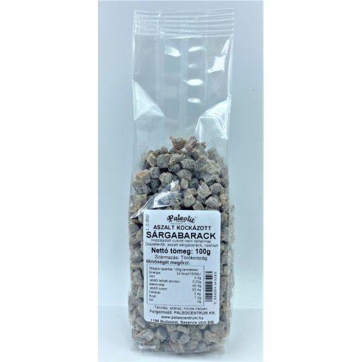 Aszalt sárgabarack kocka cukor kénmentes 100g Paleolit