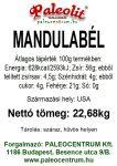 Mandulabél héjas 22,68kg 27/30 lédig
