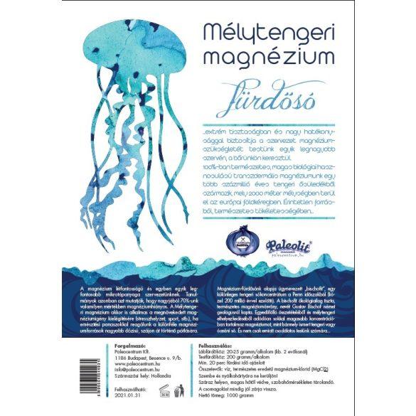 Mélytengeri magnézium fürdősó 1kg Paleolit