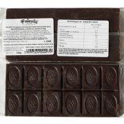Mogyoró ízű krémmel töltött étcsokoládé 100g Paleolit