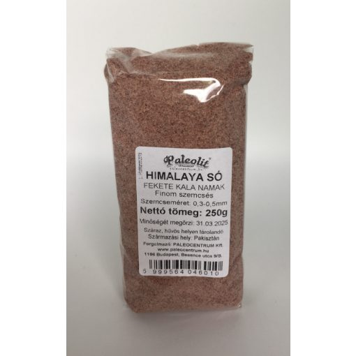 Himalaya só fekete 250g fine (0,3-0,5mm) Kala Namak