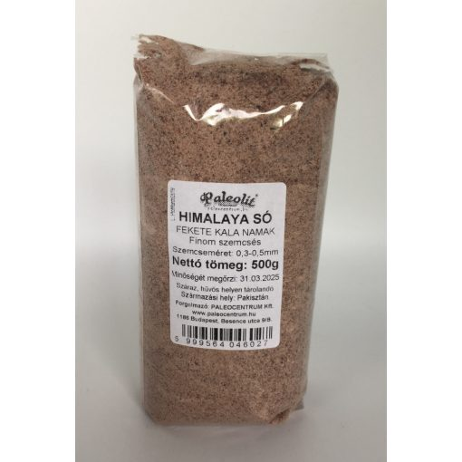 Himalaya só fekete 500g fine (0,3-0,5mm) Kala Namak